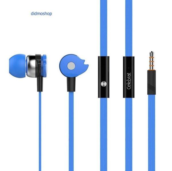 رنگ آبی هندزفری D1