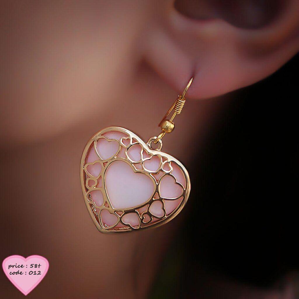 گوشواره قلب 78