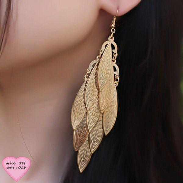 گوشواره بلند هندي