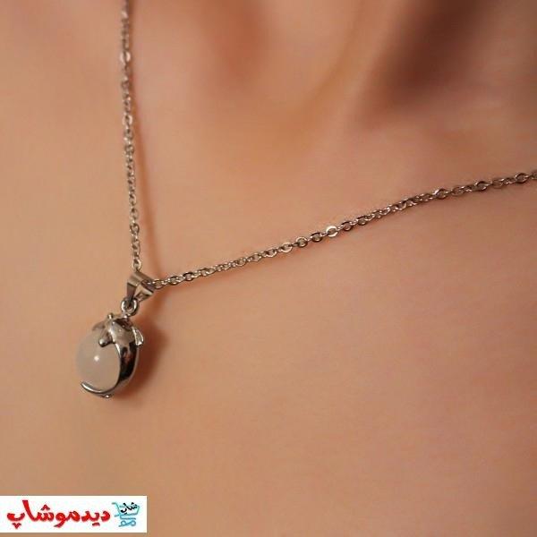 مدال آویزی نیم ست دلفین