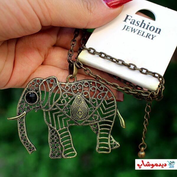 گردنبند فيل فانتزي