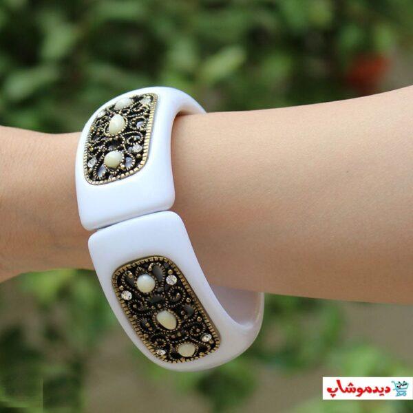 دستبند طرح سرامیکی