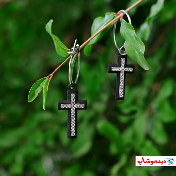 گوشواره صلیب آویزی