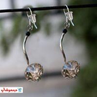 گوشواره طرح الماسی