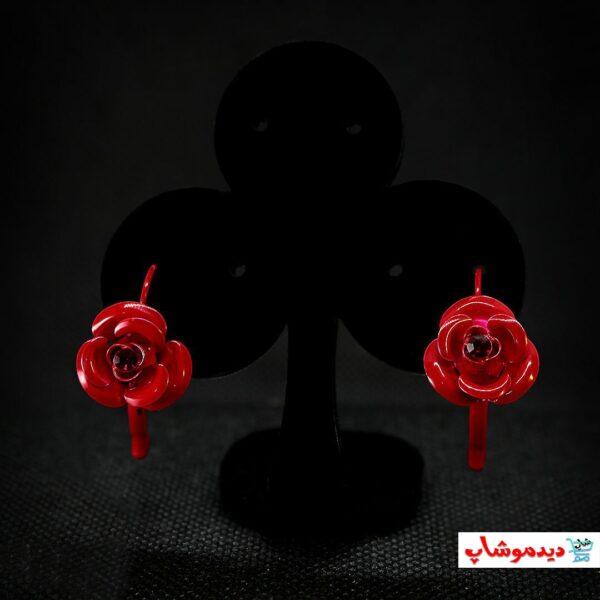 گوشواره گل رز خاص
