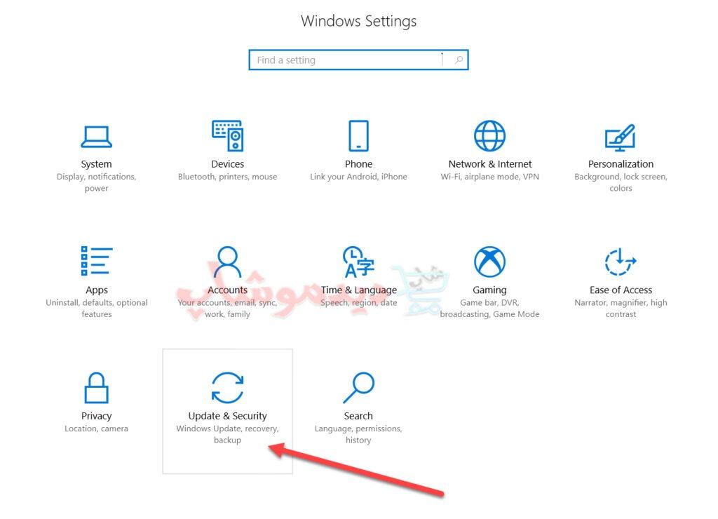 استفاده از recovery برای فعالسازی safe mode در ویندوز 10
