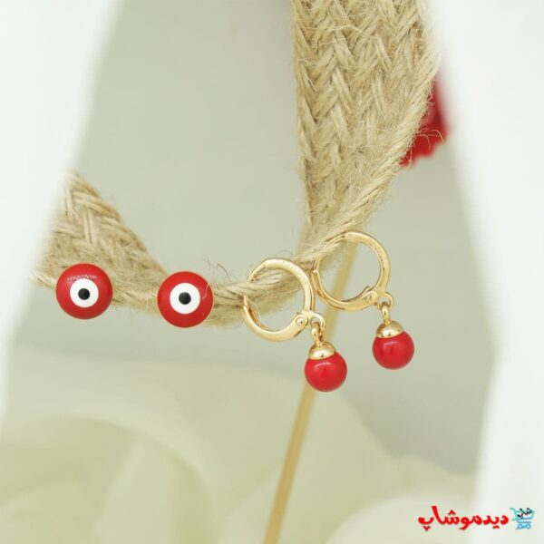 گوشواره چشم قرمز