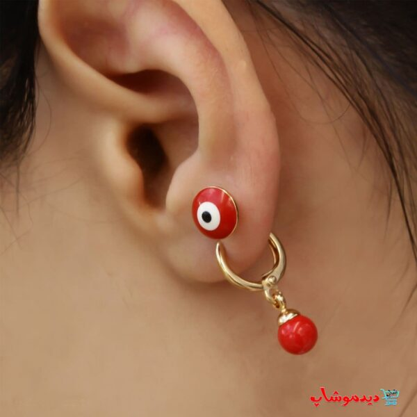 گوشواره چشم قرمز مارک
