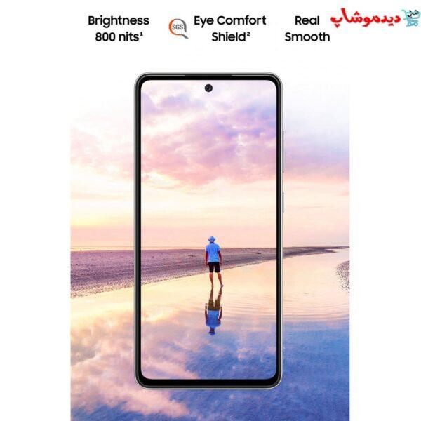 گوشی موبایل سامسونگ A52 ظرفیت 256 گیگابایت